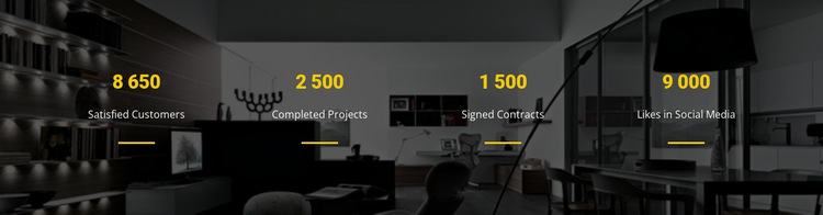 Counter Our Result HTML5 Template