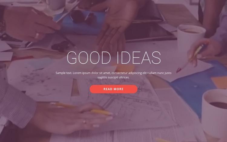 Good business ideas  Wysiwyg Editor Html