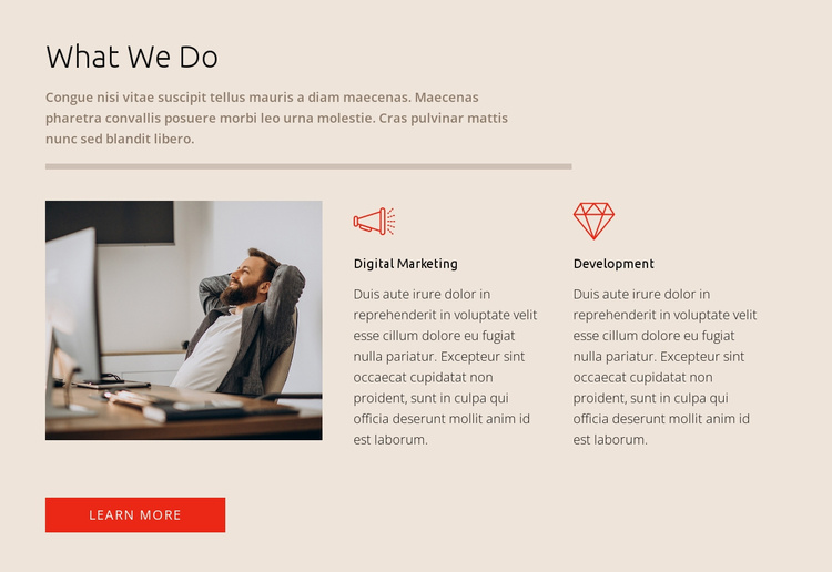 Get financial consulting help Website Template