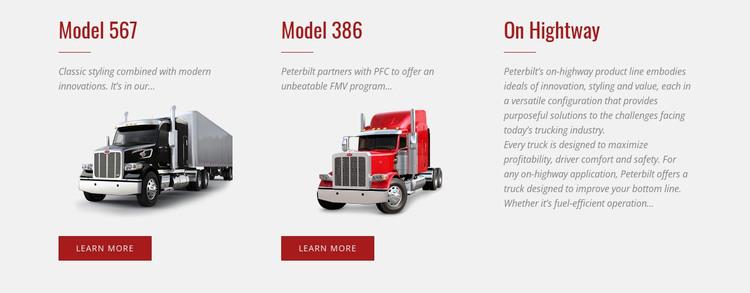 Car Logistics Services Web Design