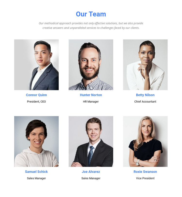 We are analysts, brainstormers and creators HTML Template