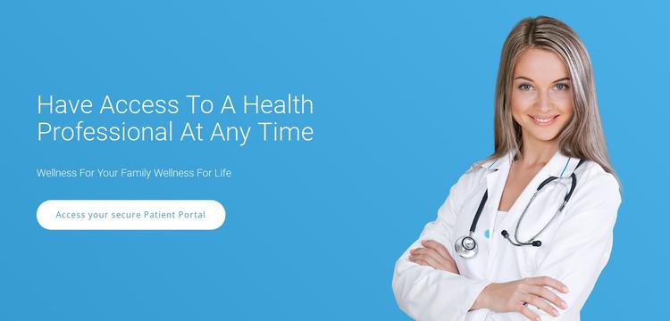 Professional Medical Care Website Template