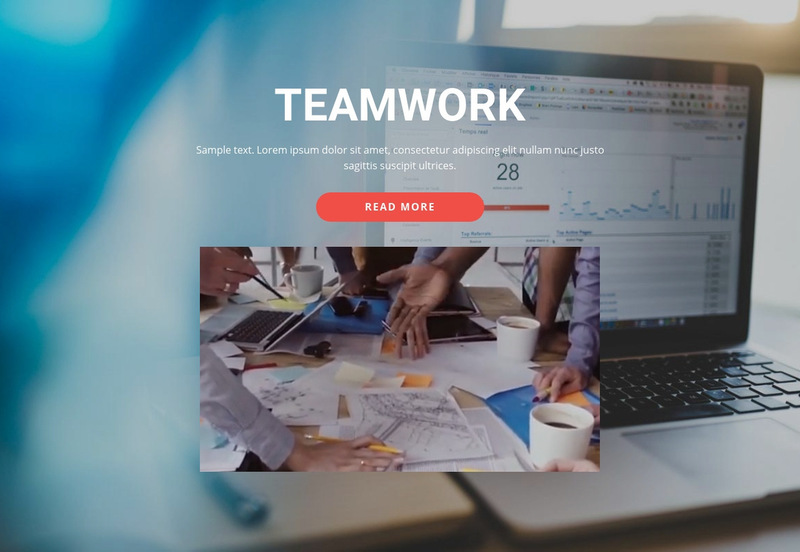 Work Together Beautifully Web Page Designer