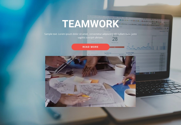 Work Together Beautifully Website Template