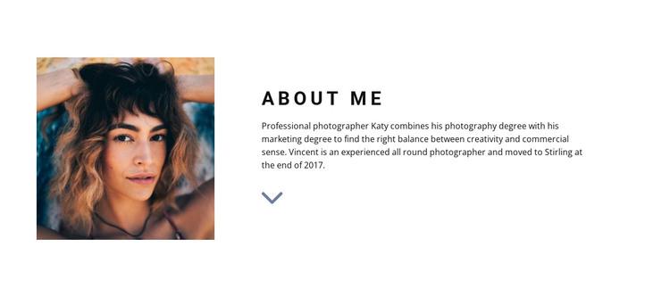 Meet our designer HTML Template