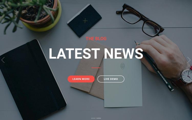 business planning  WordPress Website Builder