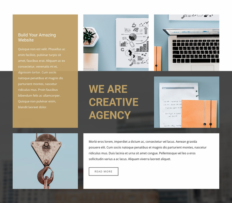 Boost your business Website Mockup