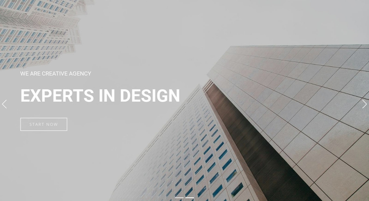 work with passion  Landing Page