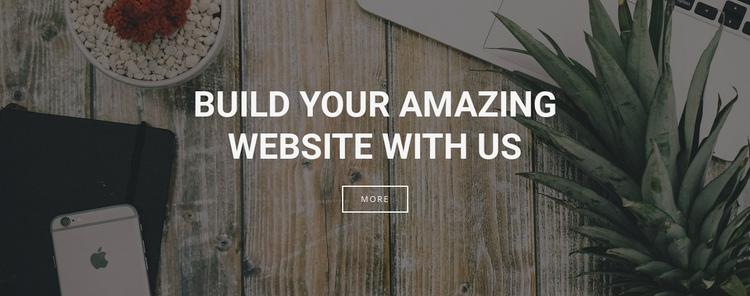 We build websites for your business Website Builder Software