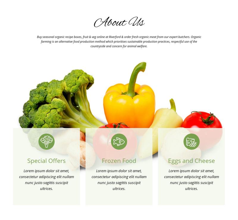 Agriculture farming Web Page Design