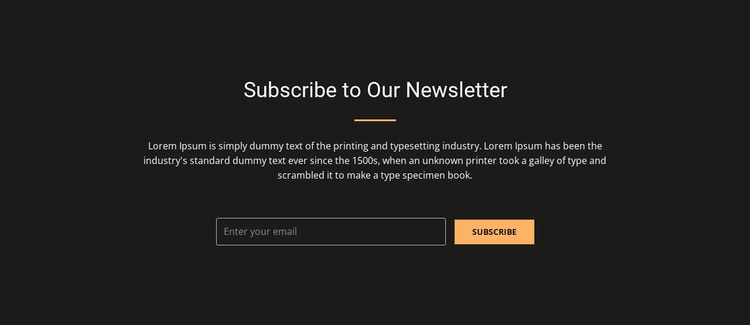 Subscribe now and receive 20% discount WordPress Theme