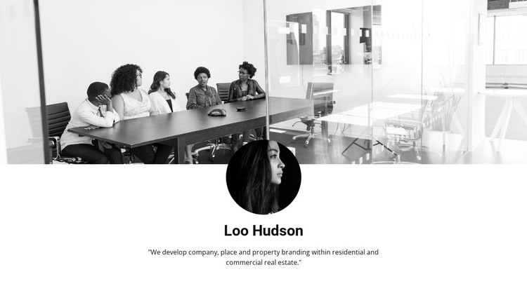 Opinion about management HTML Template