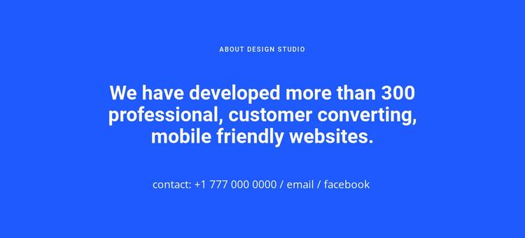 Mobile friendly websites Joomla Page Builder