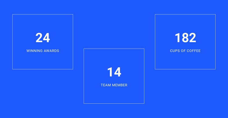 Counter Symbol HTML Template