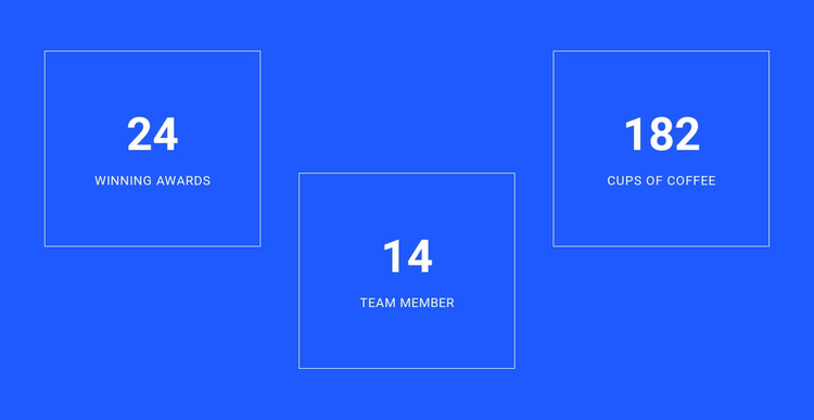 Counter Symbol HTML5 Template