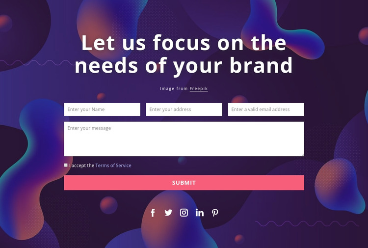 Please use one of these methods to contact us HTML Template