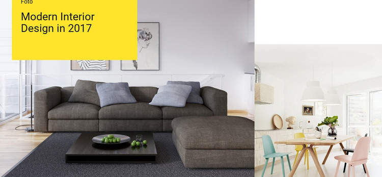 Characteristics of modern interior Woocommerce Theme