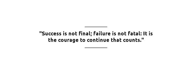 Success in Not Final Web Design