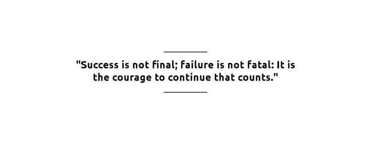 Success in Not Final Website Builder Software