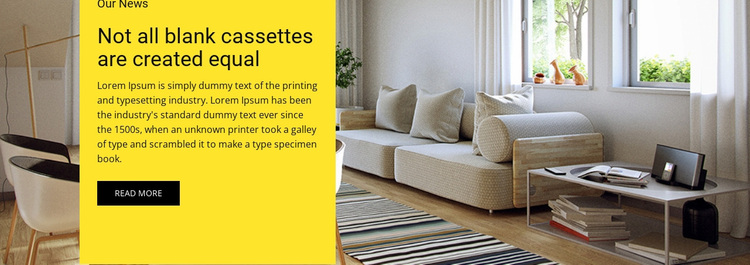 Room decor Website Design