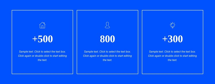 Awards and achievements CSS Template