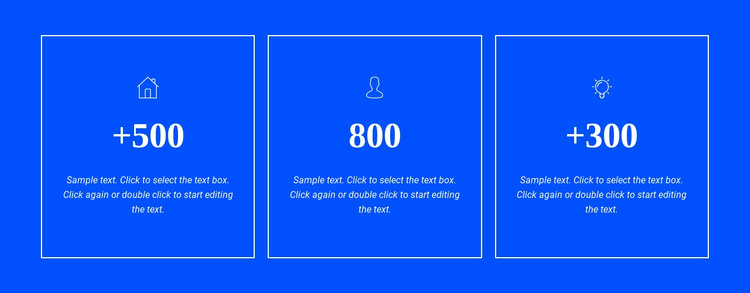 Awards and achievements HTML Template