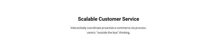 Customer Service Static Site Generator