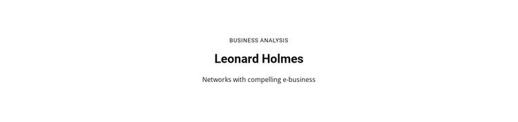 Business Analysis Static Site Generator