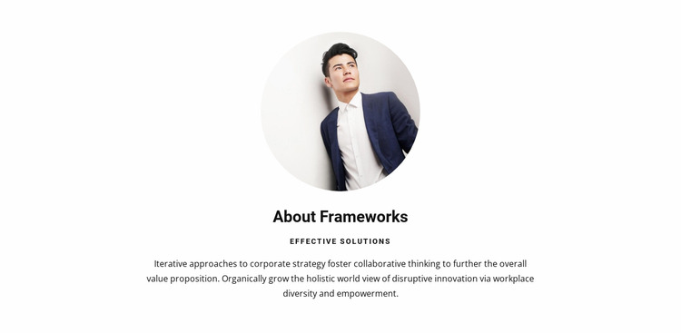 Clean, high quality code Html Website Builder
