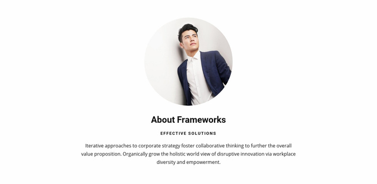 Clean, high quality code Web Page Design
