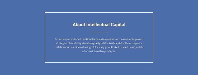 Components of intellectual capital  Html Code Example
