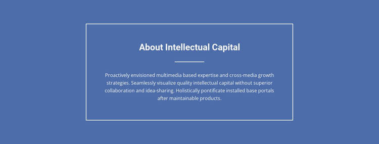 Components of intellectual capital  Html Website Builder
