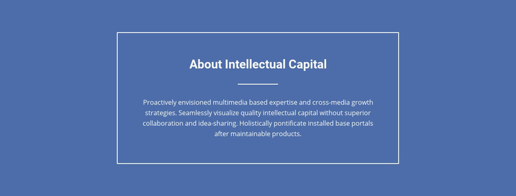Components of intellectual capital  Website Maker