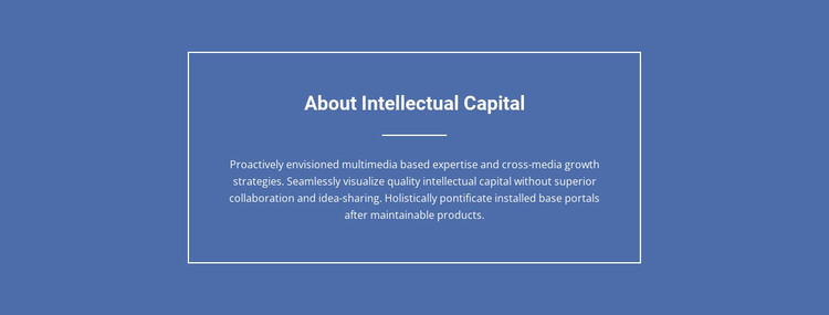 Components of intellectual capital  Woocommerce Theme
