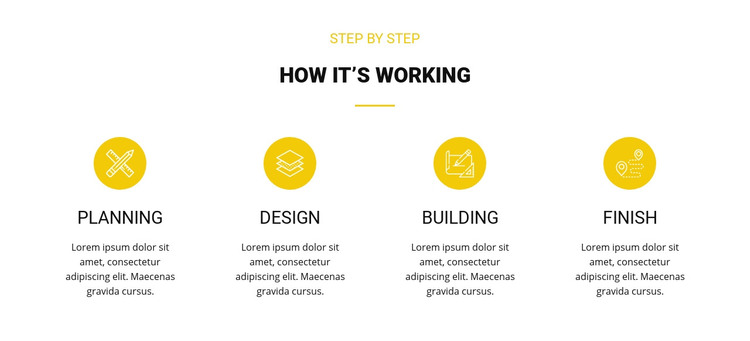 Work Planning Homepage Design