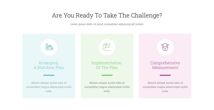 Features Ready Challenge Web Design