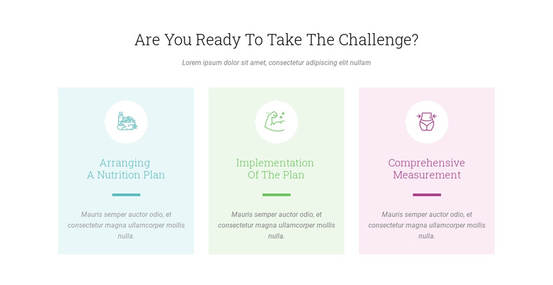 Features Ready Challenge Web Page Design