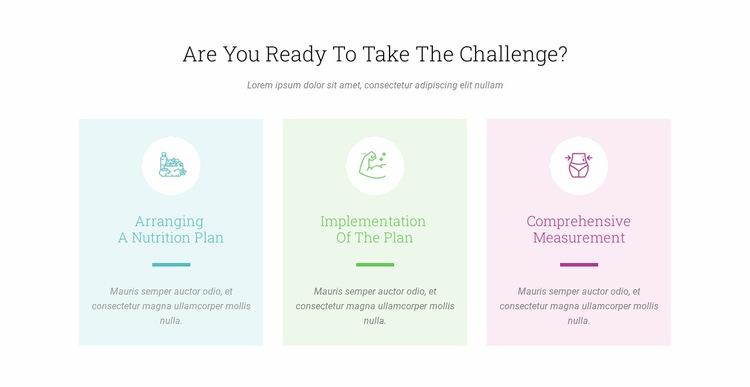 Features Ready Challenge Website Builder Templates