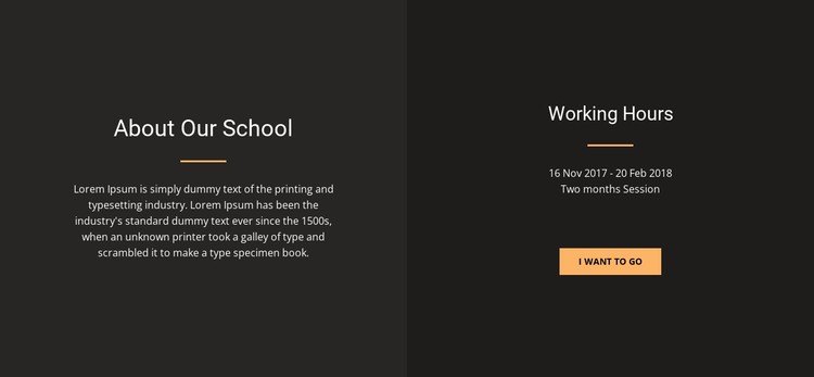 About design school CSS Template