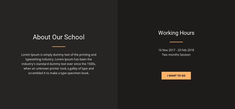 About design school Html Code Example