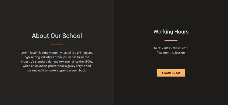About design school Template