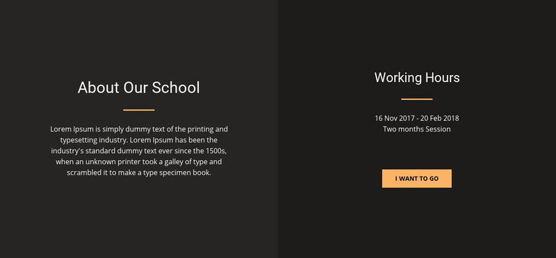 About design school Web Page Design