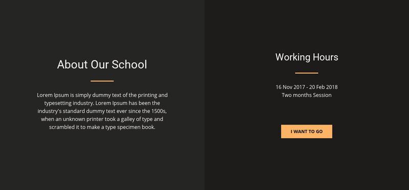 About design school Web Page Designer