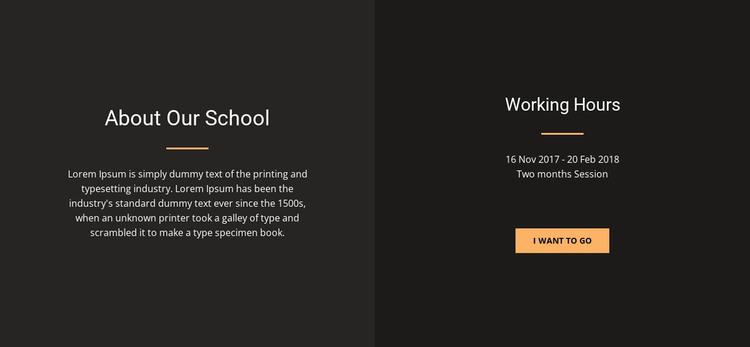 About Our Studio WordPress Theme