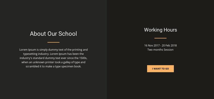 About design school WordPress Website Builder