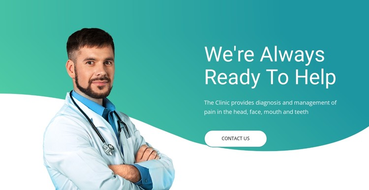 Quick medical assistance CSS Template