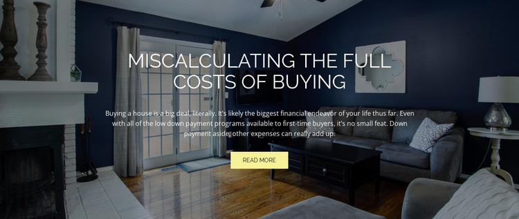 Cost of buying HTML Template