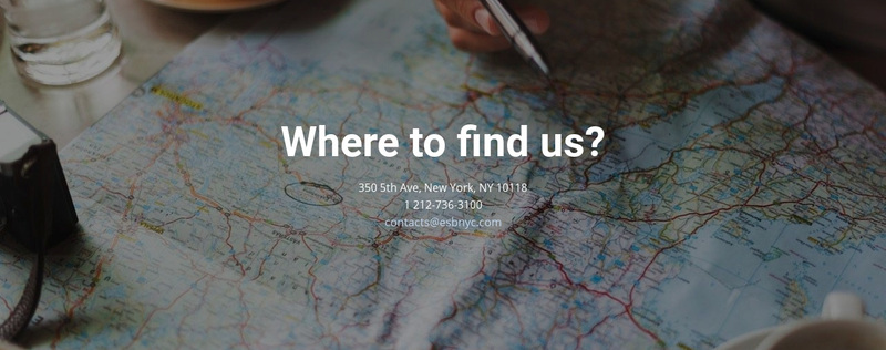 Where you can find us Web Page Design