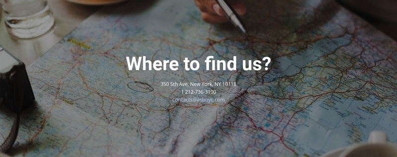 Where you can find us Website Creator