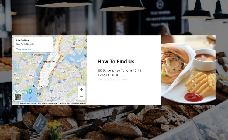 Consulting firm office location CSS Template